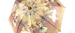¡Arte y paraguas¡ Una gran combinación