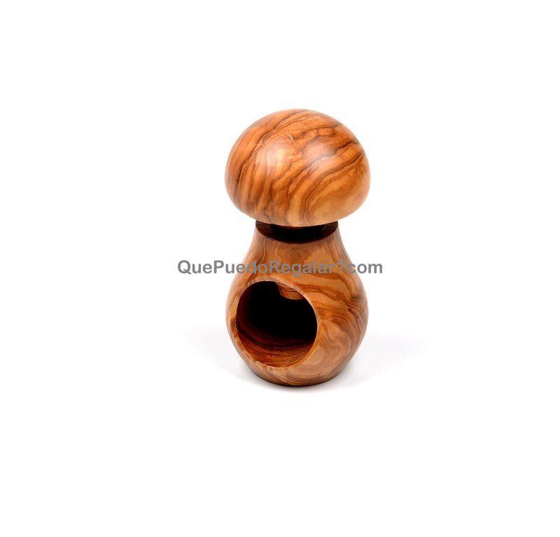 Cascanueces champi n madera de olivo utensilios de - Cascanueces de madera ...