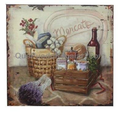 Cuadro mercato lavanda decoraci n y hogar cuadros for Cuadros decoracion hogar