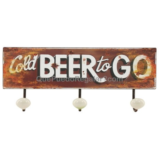 Colgador pared beer decoraci n y hogar decoraci n for Decoracion hogar original