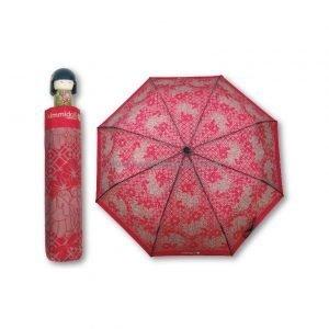 b47856daf3 Paraguas plegable Kimmidoll Rojo | Paraguas Originales, Paraguas plegables  originales | Que puedo Regalar