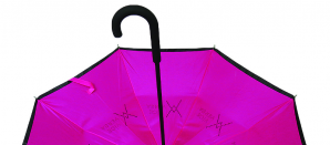Paraguas reversibles, un original regalo